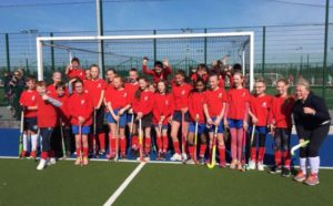 Clontarf Junior Hockey Girls 2016