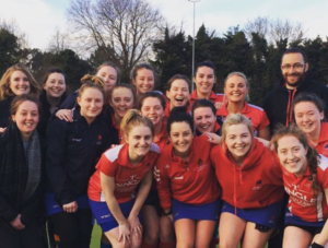 Clontarf Hockey Club Ladies 1 first team